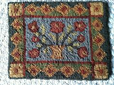 peggy teich hooked rugs - Google Search