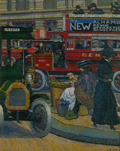 Modernity and metropolis (The Camden Town Group in Context) | Tate. Charles Ginner