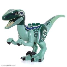 Genuine Lego Raptor Dinosaur Blue from Jurassic World Set Retired Lego Jurassic Park, Jurassic World Raptors, Blue Jurassic World, Jurassic World Dinosaurs, Jurassic World Fallen Kingdom, Raptor Dinosaur, Lucca, Legos, Craft Ideas