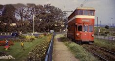 The Swansea & Mumbles Railway – Hyde Park Now Swansea Bay, Rail Car, Double Deck, Electric Train, Light Rail, Great Western, Blackpool, City Art