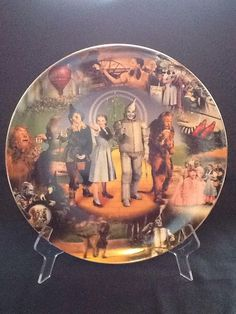 "Wizard Of Oz Bradford Exchange Plate ""But Which Is The Way Back To Kansas"""
