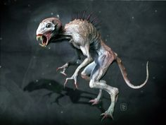 3D depiction of a Chupacabra by Javier Tejedor
