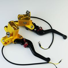 58.41$  Watch now - http://aliot8.worldwells.pw/go.php?t=32525261083 - CNC Golden PX6 hydraulic clutch universal motorcycle brake master cylinder e-bike brake clutch levers automatic power
