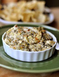The Best Spinach Artichoke Dip. Turn it into bite size appitizers- crescent bites