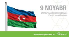 Bütün Azərbaycan xalqını 9 noyabr - Dövlət Bayrağı Günü münasibətilə təbrik edirik!  We would like to congratulate you all on the occasion of National Flag Day!
