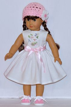 Fits American Girl Doll  Handmade Doll by DollClothesByChun