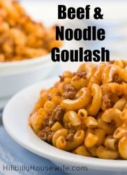 Beef and Macaroni Goulash
