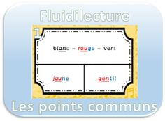 Fluidilecture : les points communs - Dys é moi Zazoo Points, Logo, Reading Strategies, Readers Workshop, Learning, Cards, 1st Grades, Billboard, Logos