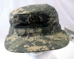 93c885e911b NEW US ARMY Digital Camouflage ACU Patrol CAP Hat Size 7 1 4 w