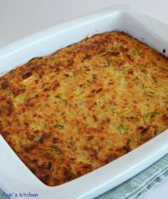 Μια εύκολη και νόστιμη συνταγή για Κολοκυθόπιτα χωρίς φύλλο made by Pepi's kitchen!