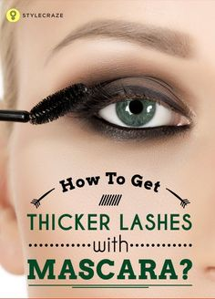 Remember how the old movies had ladies battling their long thick eyelashes? Well that is because there is a certain appeal to thick lashes that makes your eyes more sultry and the face more feminine. Long Thick Eyelashes, Longer Eyelashes, Fake Eyelashes, Eyelash Tinting, Eyelash Serum, Mascara Review, Mascara Tips, Makeup Tips, Eye Makeup