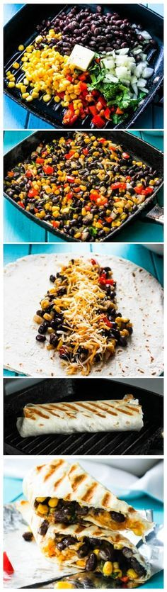 Crispy Black Bean and Rice Burritos - sharedbest