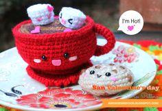 San Valentine's day Hot Chocolate-Free pattern