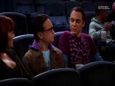 The Big Bang Theory - Sheldon Al Cinema