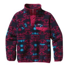 Patagonia Girl's Lightweight Synchilla Snap-T Pullover