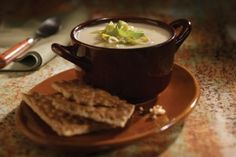 Roasted Garlic Potato Leek Soup Gluten Free Recipe