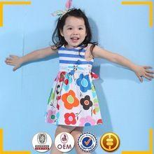 Best roupas para crianças vestidos de moda crianças meninas vestidos de algodão verão vestido casual
