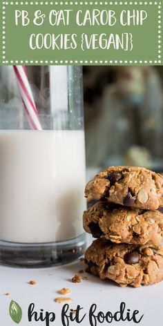 Oat cookies are great for milk production. Fill on up!  Peanut Butter & Oat Carob Chip Cookies https://hipfitfoodie.com/peanut-butter-oat-carob-chip-cookies/