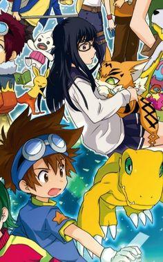Meiko Mochizuki Taichi Yagami Agumon Meicoomon Digimon Adventure Tri