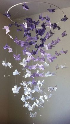 Do you see the butterflies flying in your garden with all the flowers booming? Are you getting crafty to bring the butterflies home? These butterfly chande