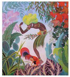 Ossãim. Série Deuses do Panteão Africano - Orixás. Nelson Boeira Faëdrich. Brasil, 1968.