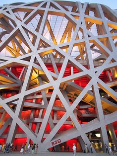 "Beijing National Stadium, ""Bird's Nest""/ Beijing, China, 2003-7 / Herzog & de Meuron, ArupSport, China Architectural Design & Research Group, Ai Weiwei (Artistic consultant)"