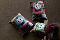 Adorable!! Little Thomas & friends pillows