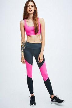 Onzie Sunray Crop Top in Pink