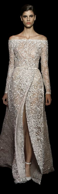 Not affordable for the average American however you can use this for inspiration for your special event Elie Saab Haute Couture / Fall - Winter 2014 - 2015