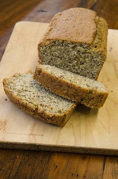 Almond Meal Bread - this calls for 8 (!) eggs but I bet it's good.  May try to veganize it.