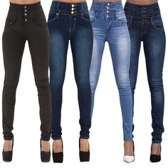 c2fe9a17d16ac Buy 2017 New Arrival Wholesale Woman Denim Pencil Pants Top Brand Stretch  Jeans High Waist Pants Women High Waist Jeans Plus Size .