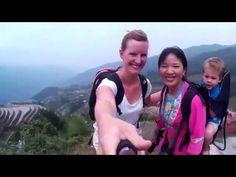 Men neme 1 moeder, 1 kind en een selfiestick. Stuur ze op reis naar China en dit is het resultaat!