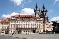 Iglesia de Nuestra Señora en frente del Týn (Praga, República Checa)