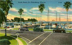 Yacht Basin. St Petersburg, FL [1954]