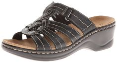 Clarks Women's Lexi Dill Wedge Sandal * For more information, visit now : Clarks sandals