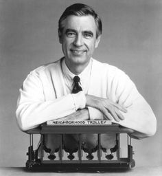 """Many wonderful quotes from """"The World According To Mr. Rogers""""... He was a very smart man."""