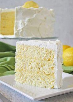 CakeJournal.com: Lemon Chiffon Layer Cake Recipe