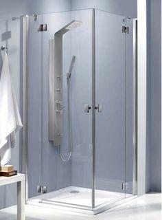 Essenza KDD Radaway kwadratowa kabina prysznicowa 900x1950 przejrzyste - 32852-01-01N