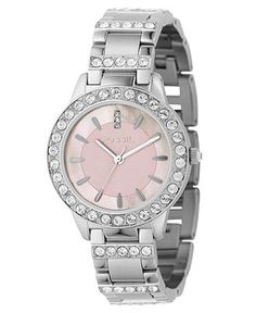 Fossil Watch, Women's Jesse Stainless Steel Bracelet 34MM ES2189 - For Her - Jewelry & Watches - Macy's