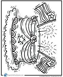 presidents daymemorial day coloring page
