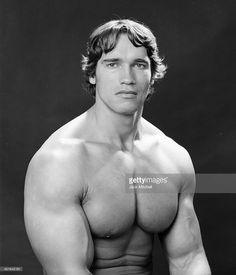Foto di attualità : Professional bodybuilder Arnold Schwarzenegger...