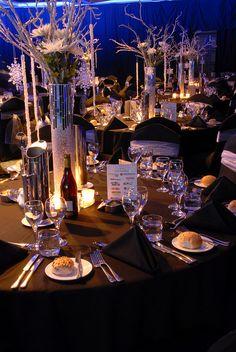 Table setting at gala dinner event ideas pinterest gala dinner