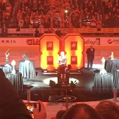 Tonight was one of the greatest experiences Ive ever had at a sporting event. Eric you were the reason me and countless other 90s kids love this sport. Thank you for everything #88forever #philadelphiaflyers #ericlindros #hockey