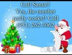 Santa's #..hahaha I wonder who this would actually be!!!!