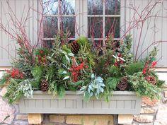 Window Box Designs For Winter
