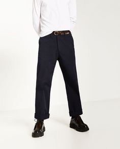 Image 2 of PALAZZO TROUSERS from Zara