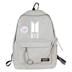 Mochila Kpop, Mochila Do Bts, Cute Girl Backpacks, Cute Backpacks For School, Bts Backpack, Backpack For Teens, Bts School, Bts Bag, Mode Kpop