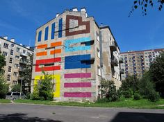 by French street artist El Tono In Warsaw, Poland. Over the last 12 years, the development of Eltono's work in galleries has focused on finding solutions to address the problems of showing public art in private indoor spaces.