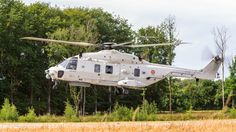 Belgium NH90 Helicopter at Ursel Avia