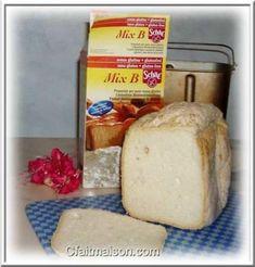 Pain avec le mix B de la marque Schär. Brioche Sans Gluten, Dairy, Cheese, Food, Kitchens, Hoods, Meals